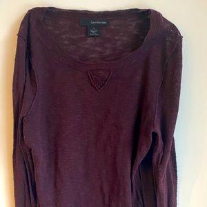 Calvin Klein light sweater